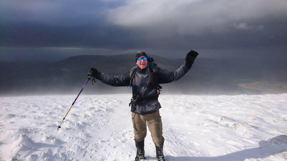 Glenwalk snow hiking